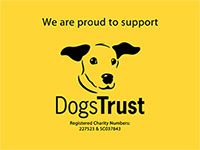 Proud to support Dogs Trust
